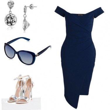 Outfit Blu eleganza...