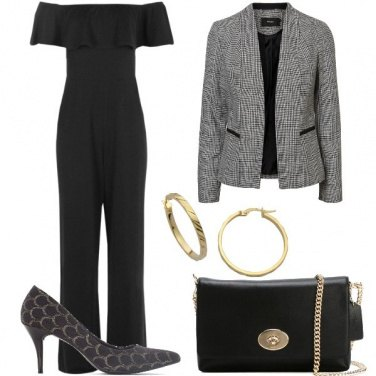 Outfit Jumpsuit nera