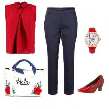 Outfit Equilibrio di colori