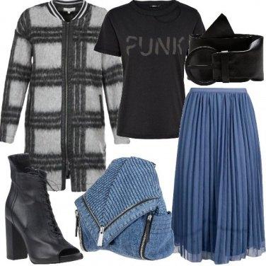 Outfit Punk romantico