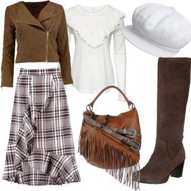 Outfit Frange sulla borsa