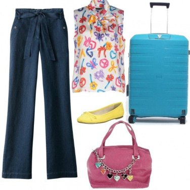 Outfit Colori in viaggio