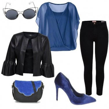Outfit Nel blu