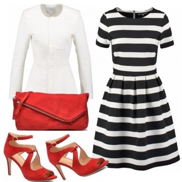 Outfit Fiammate di colore