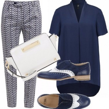 Outfit Curvy in oxford