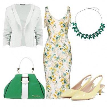 Outfit L'ab A fiori