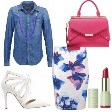 Outfit Fuxia kiss