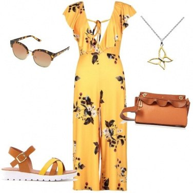 Outfit Giallo low-cost