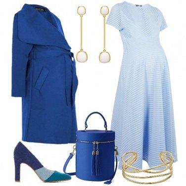 Outfit Sfumature blu