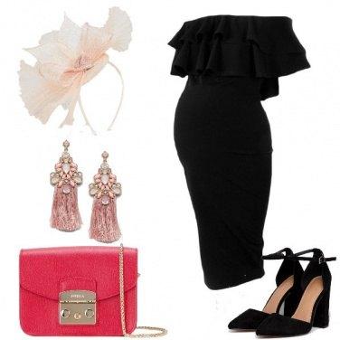 Outfit Il vestito con le balze