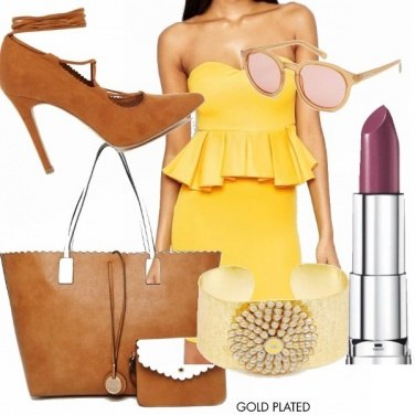 Outfit Giallo solare!