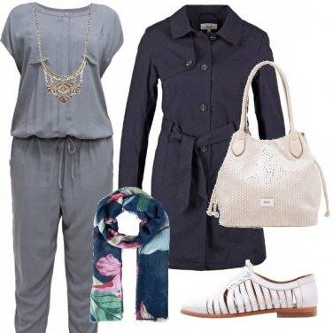Outfit Tocchi di blu