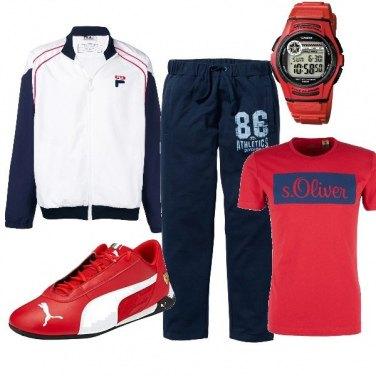 Tendance sport homme, une tenue complète et 7 autres pièces