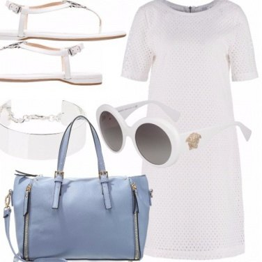 Outfit White and a little bit light blue