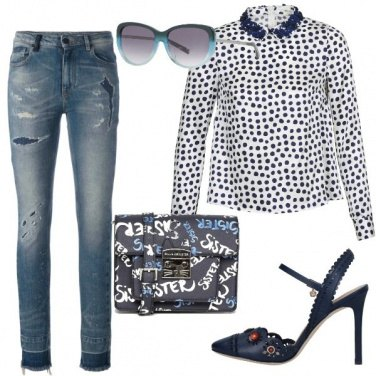 Outfit Blu cielo