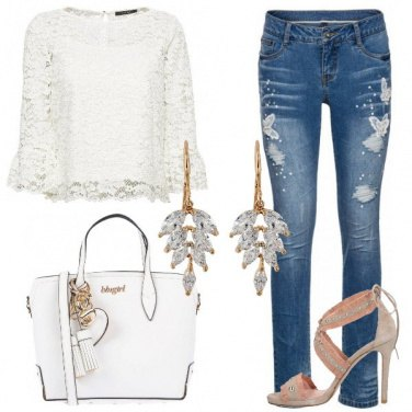 Outfit Splendida in jeans