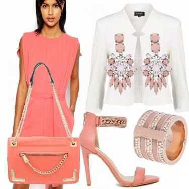 Outfit Peach echo casual chic!