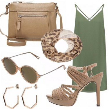 Outfit Look safari!