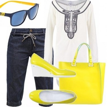 Outfit Yellow fluo!