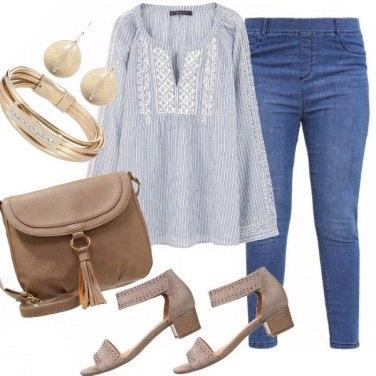 Outfit Comodamente in blu!