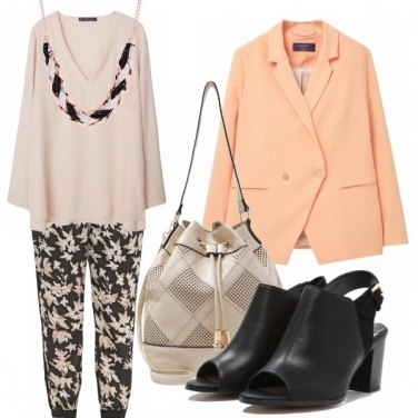 Outfit Casual chic - curvy at work