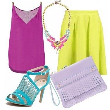 Outfit Let\'s color block!