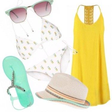 Outfit Malibù e ananas