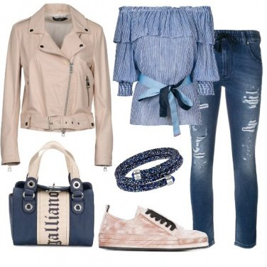 Outfit Jeans mania