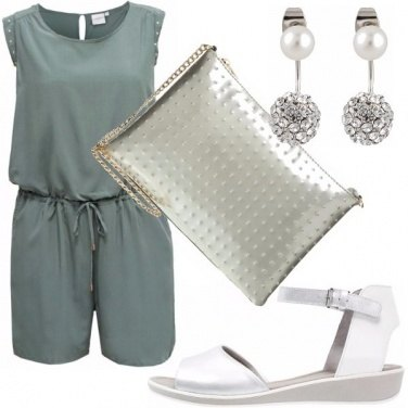 Outfit Riflessi silver