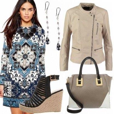 Outfit Maioliche mediterranee