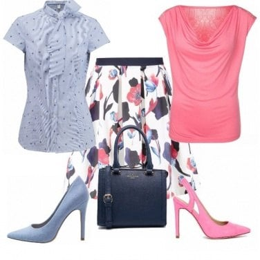Outfit Blu o rosa?