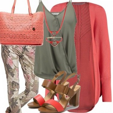 Outfit Peach echo camuflage