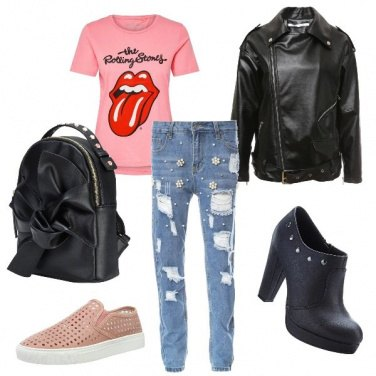 Outfit 80\'s rock