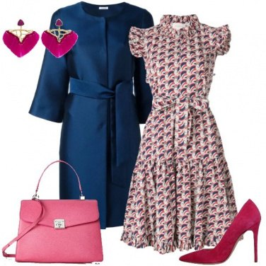 Outfit Fantasie sul rosa