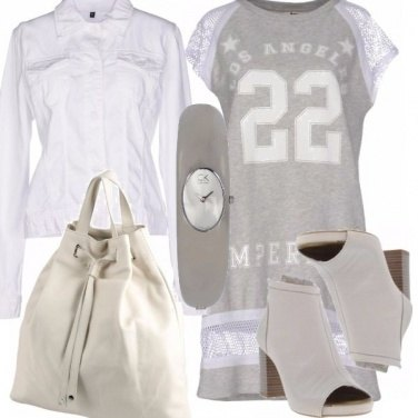 Outfit Sportiva in street style
