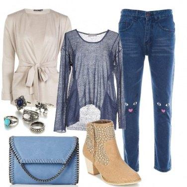 Outfit Un paio di jeans simpatico