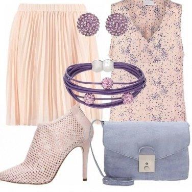 Outfit Lilla e rosa!