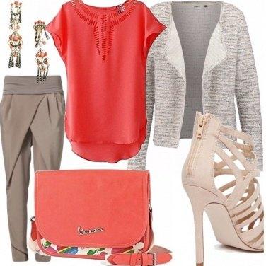 Outfit Peach echo