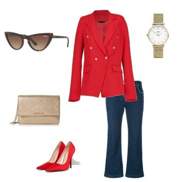 Outfit Fashion in Red !