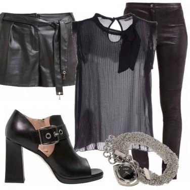 Outfit Ecopelle black!