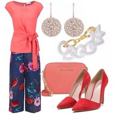 Outfit Peach echo & fiesta glam