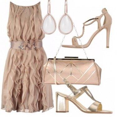 Outfit Cerimonia - due tacchi