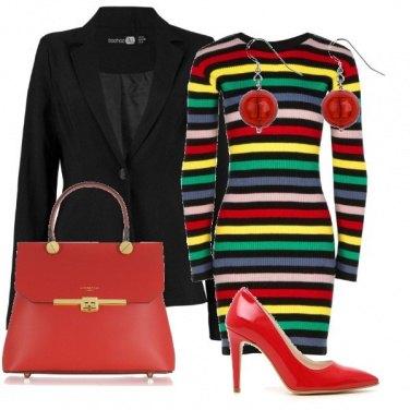 Outfit Il tubino multicolor
