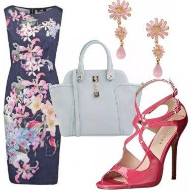 Outfit 50 sfumature di rosa e celeste