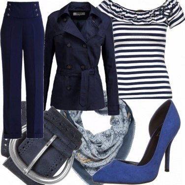 Outfit Vestivamo alla marinara