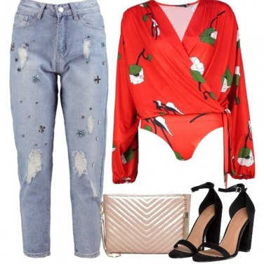Outfit Jeans e camicia low cost