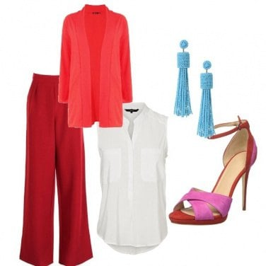 Outfit Un tocco fluo