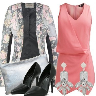 Outfit Pink & Grey