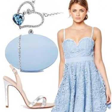 Outfit Celeste polvere!