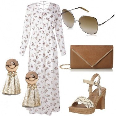 Outfit Motivo Floreale